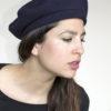 midnight blue beret
