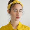 light mustard braid headband