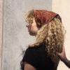 Solstice Sisters sienna headscarf