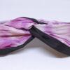 cherry blossom shibori silk open turban